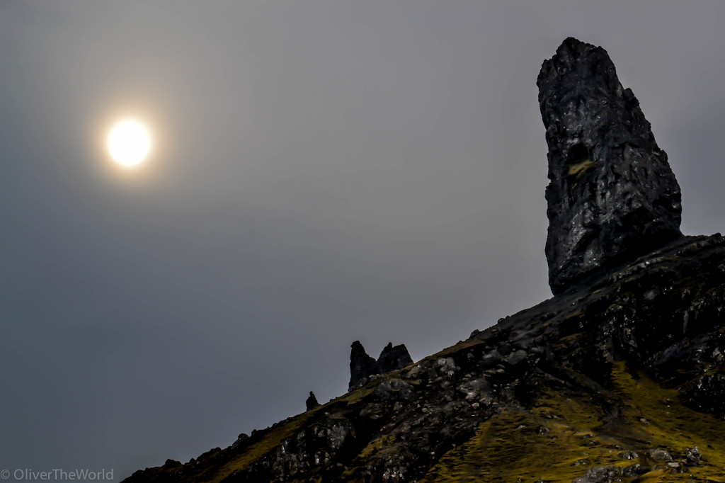 The Sun and the Storr