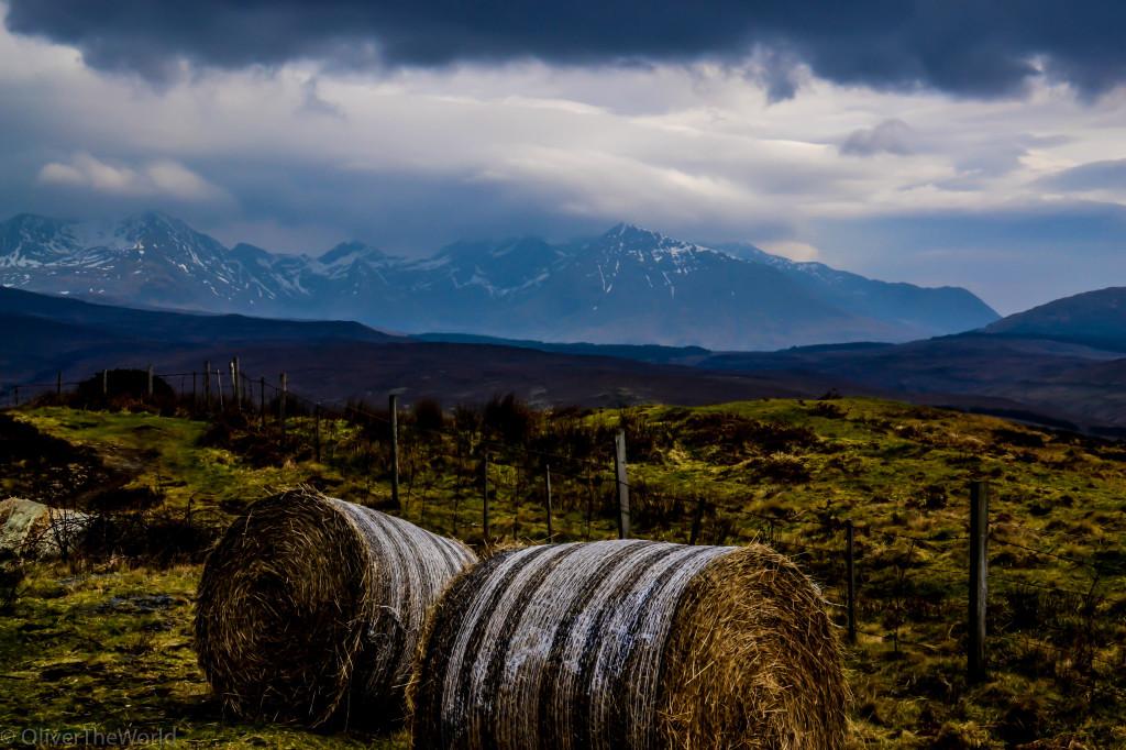 Black Cuillin on Road to Sligachan