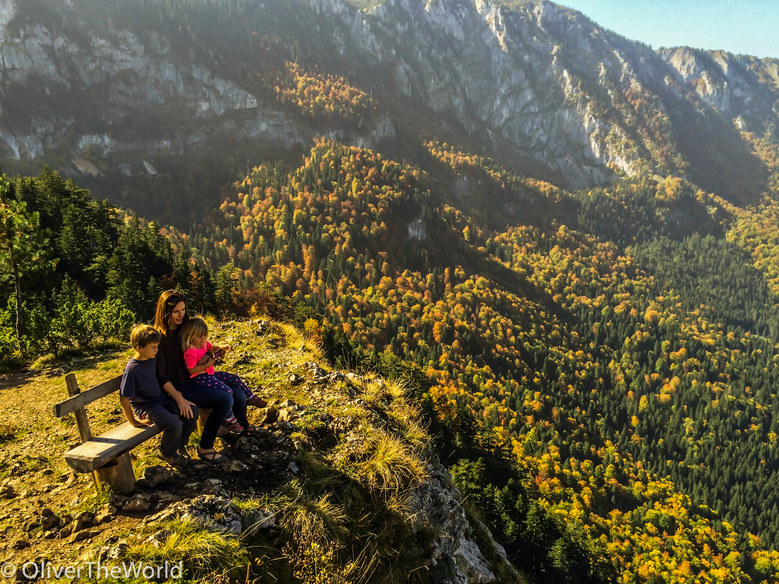 The edge of Durmitor, Montenegro